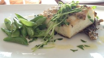 halibut-peas