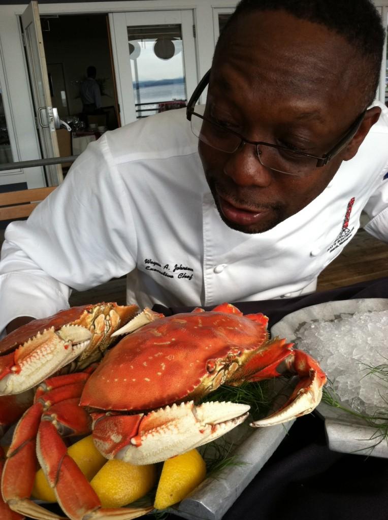 Dungeness Crab Chef Wayne Johnson