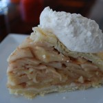 House Made Apple Pie with whipped cream