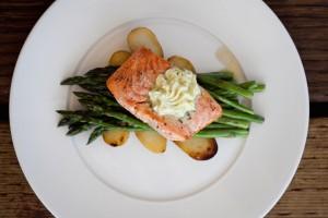 Ray's Salmon + Asparagus 1