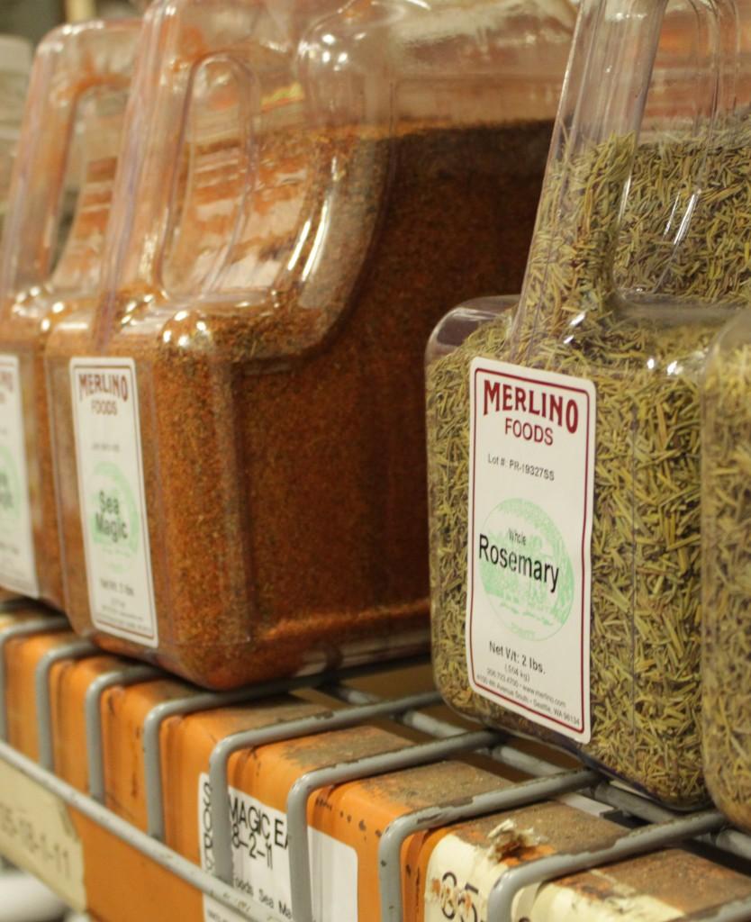 Merlino Foods Spice Rack