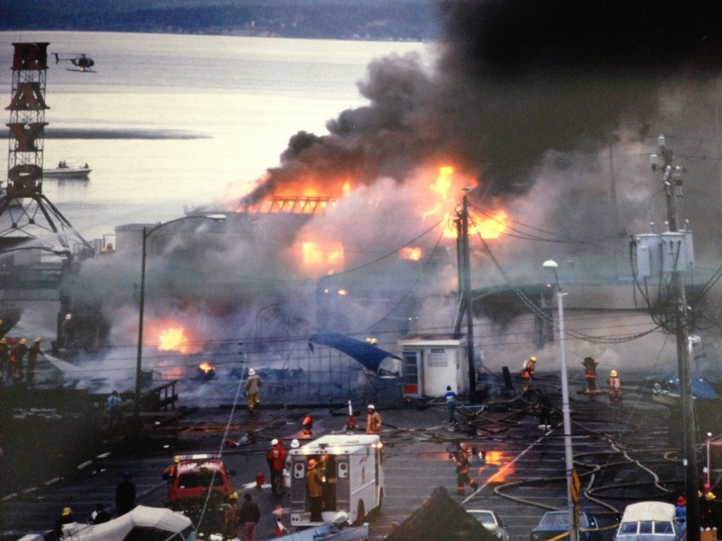 Ray's Fire Photo 1987