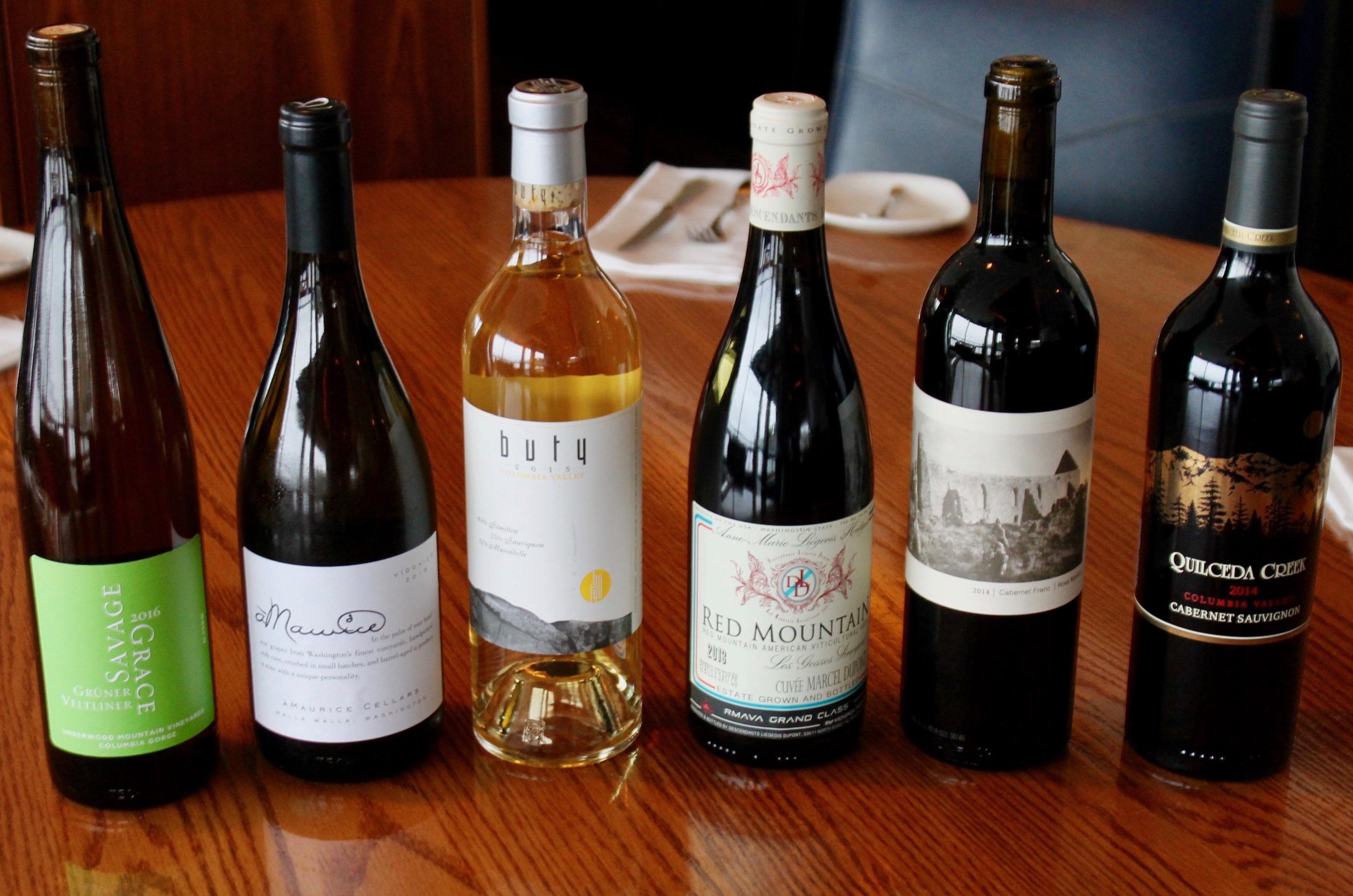 Taste Washington Wine Month at Ray's Mar  1-31! - Ray's