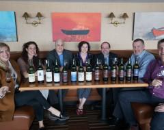 Rays Rewind Wine Tasting Group Photo